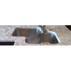 AG1616H - Gemini Corner Butterfly Double Sink